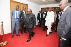 RAF2018 - Arrivée de SEM Nana Akufo-Addo, Président du GHANA