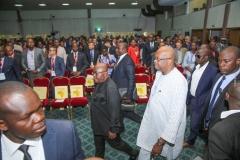 RAF2018 - Arrivée du Chef de l'Etat Burkinabé dans la Salle