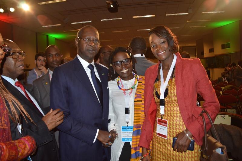 RAF2015-Mahammed Dionne-PM Sénégal + Mariéme Jamme-CEO Spot One Global Solutions