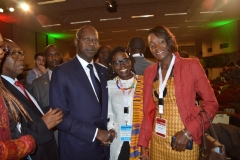 RAF2015-Mahammed Dionne-PM Sénégal + Mariéme Jamme-CEO Spot One Global Solutions