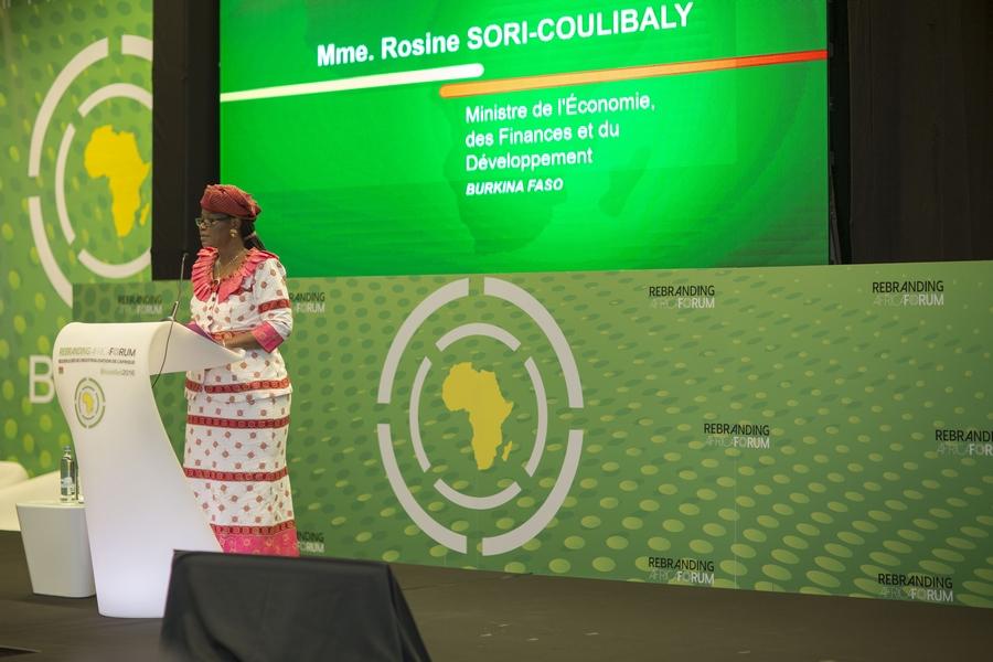 Rosine COULIBALY- Ministre de l'économie et des finances_ Burkina Faso