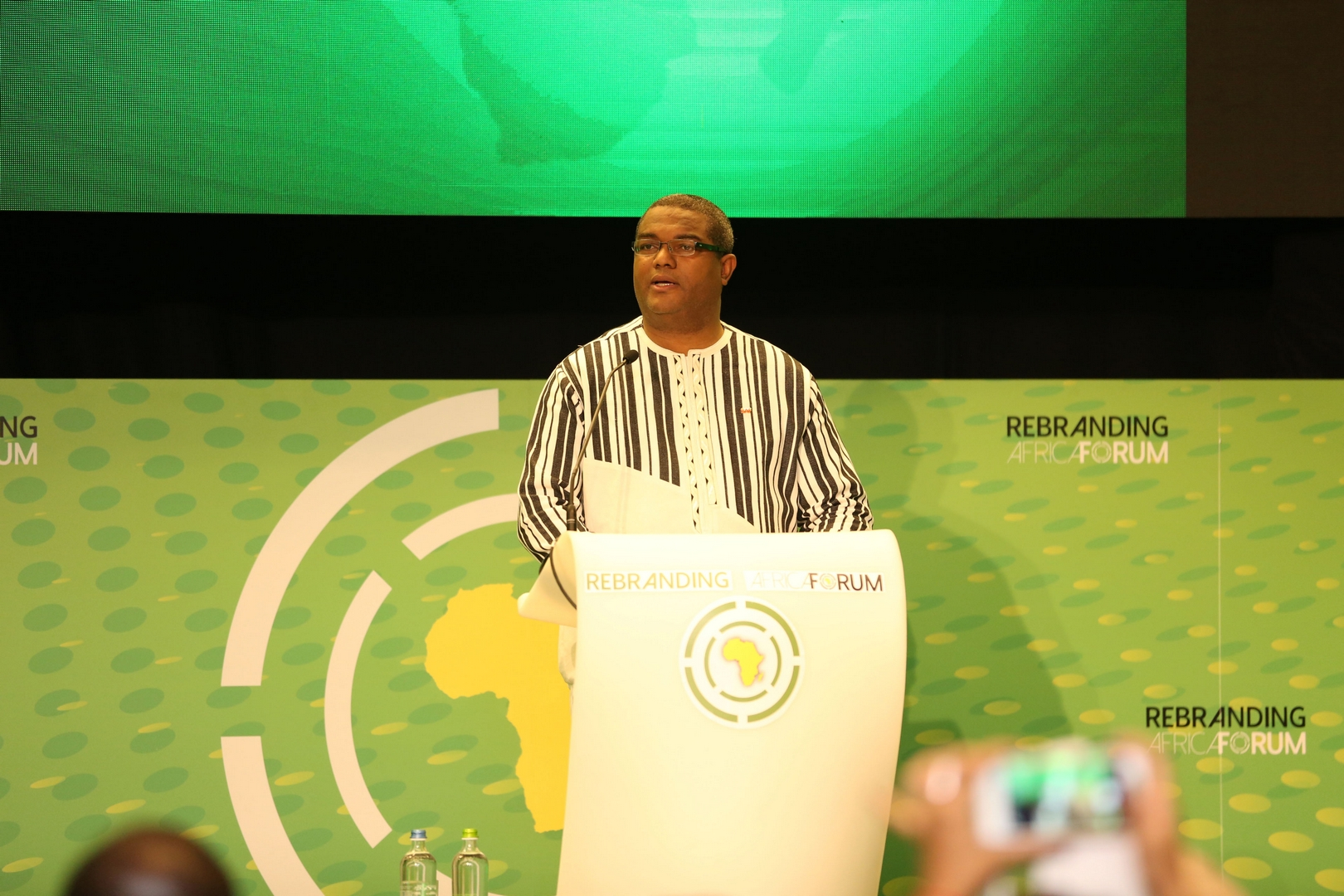 Thierry Hot, Fondateur, Rebranding Africa Forum / Founder, Rebranding Africa Forum