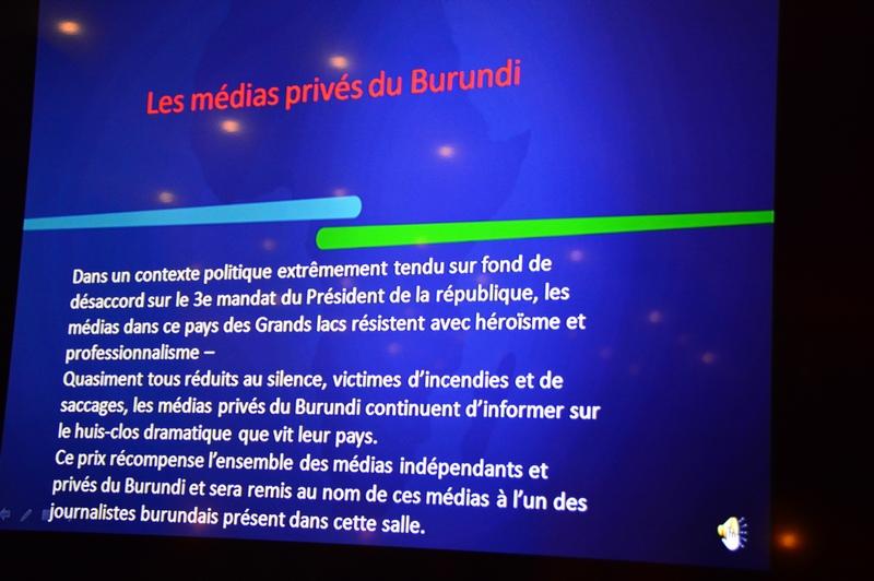Les médias privés du Burundi