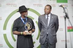 Godfrey Nzamujo, Directeur du centre régional SONGHAÏ - laureat Lifetime Achievment Rebranding Africa Award
